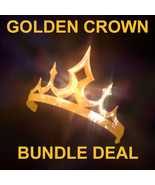ENDS SUNDAY Haunted GOLD CROWN EXCLUSIVE ROYAL ... - $499.77