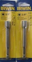 """Irwin 3051003 3/8"""" X 1"""" Hex Magnetic Nutsetter 2 Packs - $9.90"""