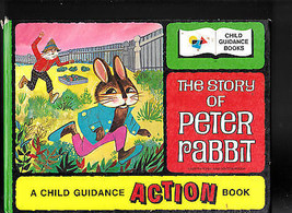 The Story of Peter Rabbit Child Guidance Action Book Japan book moveable - $18.61