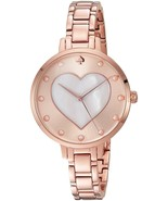 KATE SPADE NEW YORK WOMEN'S METRO HEART ROSE GO... - $229.08