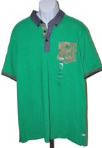 Sean John Men's Short Sleeve Chevron Pocket Polo Shirt Size 2XL NWT Brig... - $14.87