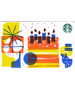 Starbucks 2018 Cake Recyclable Gift Card New No Value - $1.99