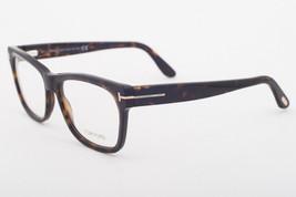 Tom Ford 5468 F 052 Dark Havana Eyeglasses TF5468-F 052 Asian Fit 55mm - $293.02