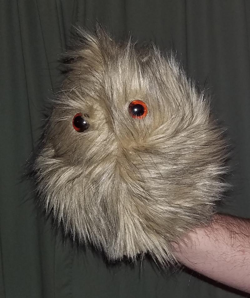 "Professional Brown ""FurGoblin"" Muppet Style Ventriloquist Puppet *  B14"