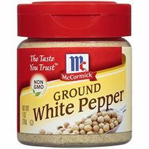 McCormick Ground White Pepper, 1 oz - $7.87