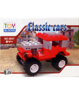 Toy Blocks Classic Cars Building Set 51 Pcs 100% Lego Compatible - $4.49