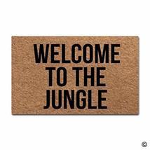 MsMr Door Mat Entrance Floor Mat Welcome To The Jungle Designed Funny In... - €21,03 EUR