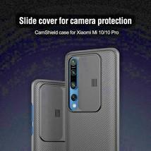 New For Xiaomi Mi 10 Case Cam Shield Case Slide Camera Cover Protect Privacy - $19.98