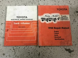 1988 Toyota Truck & 4Runner VZN Series Service Shop Repair Workshop Manu... - $128.65