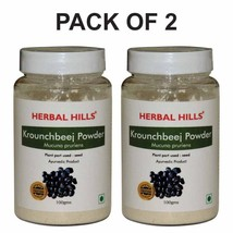 Herbal Hills Krounchbeej Powder (Mucuna Pruriens Powder ), 100 g (Pack o... - $15.71