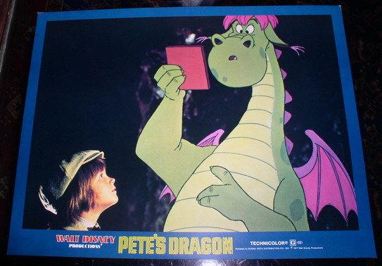 Disney Petes Dragon Elliot 1997 WDP Lobby Card