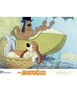 Disney Aristocats 2 dogs Walt Disney Prod Lobby Card - $35.00