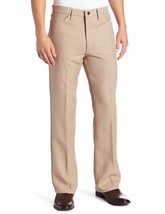 Wrangler Men's Wrancher Dress Pant,Dark Beige,31x34 - $39.95