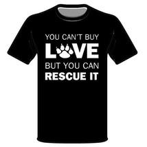 Rescue Paw T-Shirt * Mans Best Friend, Adopt, Shelter, Love, Dog Shirt - $10.39