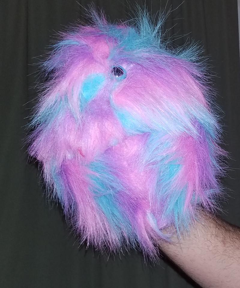 "Professional Rainbow ""FurGoblin"" Muppet Style Ventriloquist Puppet *  B7"