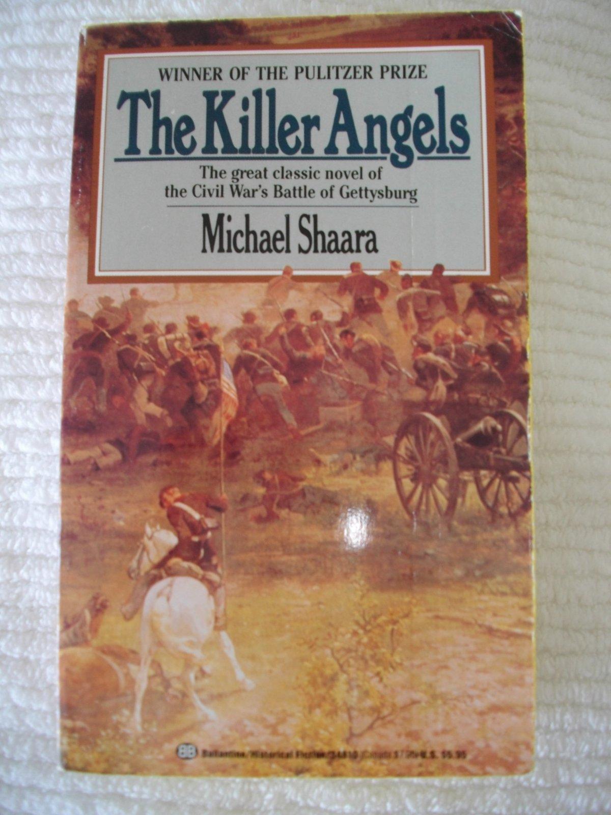 the battle of gettysburg in michael shaaras the killer angels