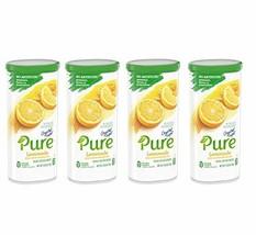 Crystal Light Pure Lemonade Drink Mix, 10-Quart Canister 4 Canister Pack