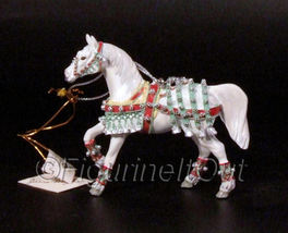 Trail of Painted Ponies Silver Bells Ornament 12335 signed - $60.00