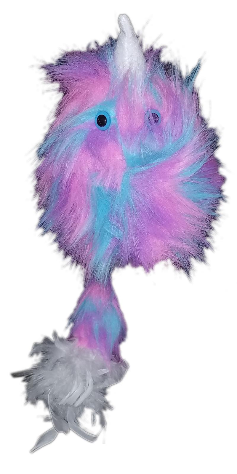 "Professional Rainbow ""FurGoblin"" Wh. Horn Muppet Style Ventriloquist Puppet *10"