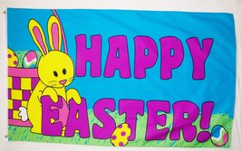 Happy Easter! Flag 3' X 5' Indoor Outdoor Banner - $10.95
