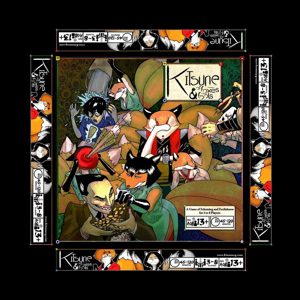 Kitsune foxes