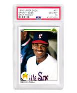 Sammy Sosa 1990 Upper Deck Baseball #17 RC Rookie Card PSA 10 GEM MINT New Label - $177.21