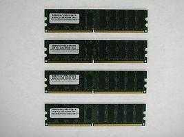 16GB 4X4GB Memoria Para HP Proliant BL25P G2 BL260C G5 BL2X220C G5