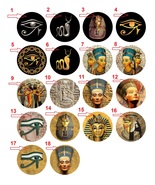 "Take any 4 1.25"" Handmade Pinback Button Badge Ancient Egypt (1¼"" Aprox.... - $3.95"