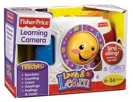 Fisher-Price Laugh & Learn Learning Camera  - $9.00