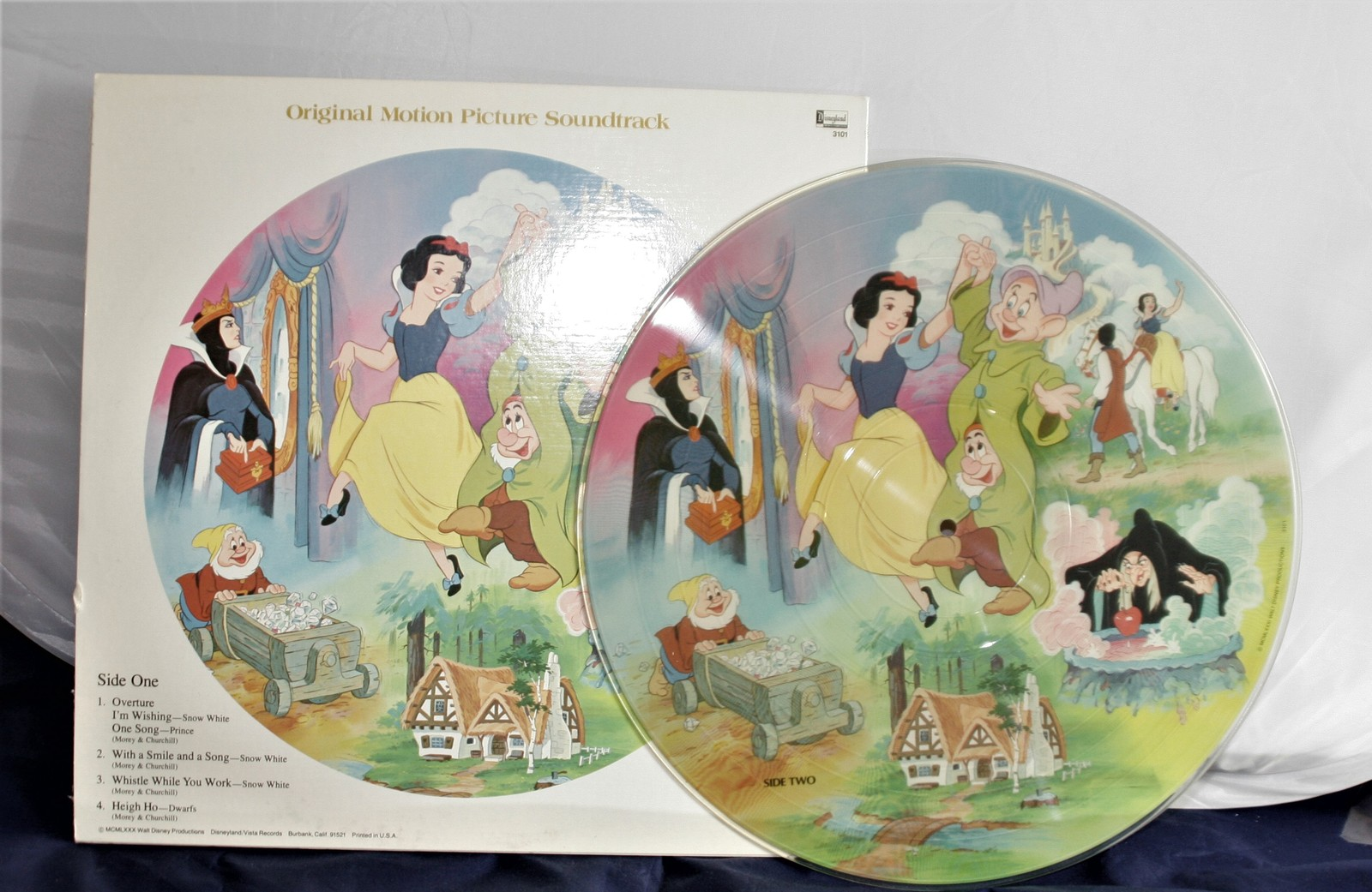 Primary image for Snow White and The Seven Dwarfs Picture Disc LP Vinyl  Walt Disney