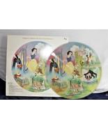 Snow White and The Seven Dwarfs Picture Disc LP Vinyl  Walt Disney  - $39.03