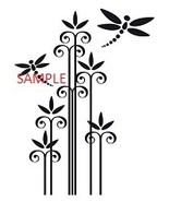 DRAGONFLYS AND REEDS CROSS STITCH CHART - $10.00