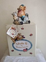 Ride Em Catboy Horse Cat Salt Pepper Shaker Figurine Heather Goldminc St... - $12.88