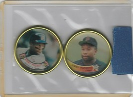 1988 1989 Topps Coins Twins Kirby Puckett - $1.28