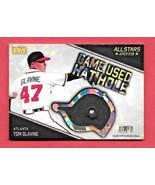 2019 Tom Glavine Hits Memorabilia All Stars Hat Hole Relic 1/1 - Atlanta... - $56.99