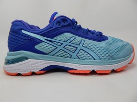 Asics Gt 2000 6 Size: US 8 M (B) EU 39.5 Women's Running Shoes Blue Teal T855N
