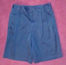 Lands End Boys Sz 10 Navy Uniform Shorts - $14.84
