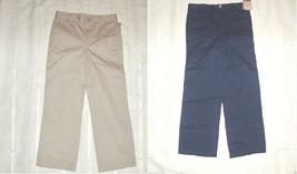 Boys Cherokee Dress Navy Blue or Beige  Pants Uniform Sizes 5 ,14  NWT - $13.99