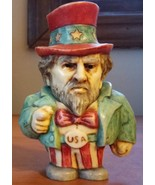 Harmony Kingdom Ball Pot Belly Uncle Sam with box and COA - $14.00