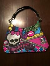 MONSTER HIGH SKULLETTE Handbag Purse 2012 Matte... - $14.09