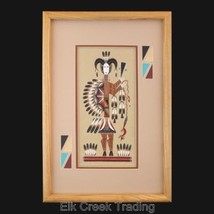 "13 x 18"" GENUINE Native American Navajo Sand Pa... - $339.00"