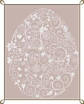 Uovo in Fiore (Egg Flower) cross stitch chart Alessandra Adelaide Needleworks - $16.75