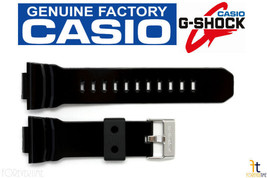 Casio G-Shock GA-150BW Original Black (Glossy) Rubber Watch Band GA-200BW GA-200 - $44.95