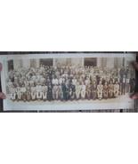 Shreveport, LA Consistory H.A. Durham Class May 1946 Original Sepia Print - $24.99