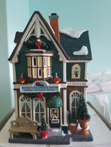 FREE SHIPPING, DEPARTMENT 56 Roses Flower Shop - $35.00