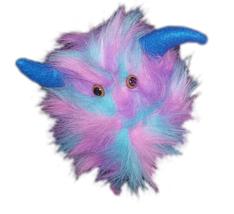 """Professional Rainbow """"FurGoblin"""" Bl. Horns Muppet Style Ventriloquist Pu... - $30.00"""