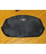 Giorgio Armani Black Clutch Makeup Bag Cosmetic Case Handbag Purse Tote  - $14.99