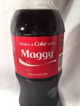 2015 Share a COKE with MAGGY Collectible 20 Oz Bottle Coca-Cola Name - $15.99