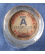Crystal Dairy Half Pint Milk Bottle Cap Vintage... - $9.93