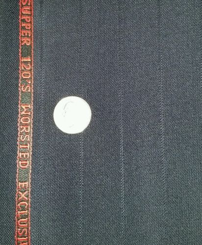 Super 120'S English Wool Suit Fabric 6 Yards top quality Suiting Free Shipping